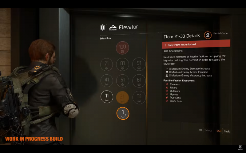 В The Division 2 вводят своеобразный «рогалик» про стоэтажный небоскрёб