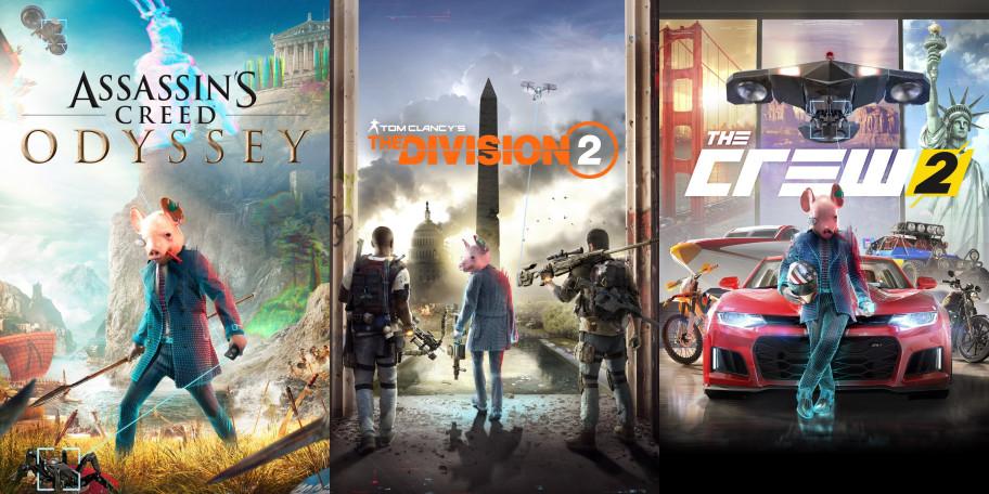 Watch Dogs: Legion «взломала» другие игры Ubisoft