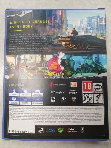 Консольная Cyberpunk 2077 занимает два диска — в магазины уже отправляют наборы для старта продаж