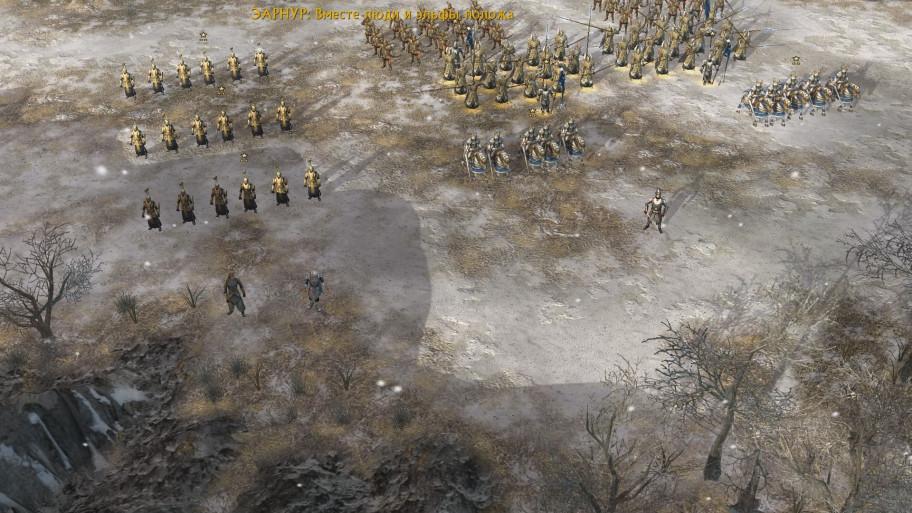 Как-то маловато войск привели союзники для генерального сражения