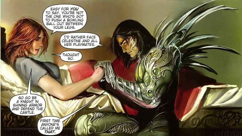 Не беспокойтесь, у них родилась девочка, а Тьма передаётся лишь по мужской линии, так что сила осталась при Джеки