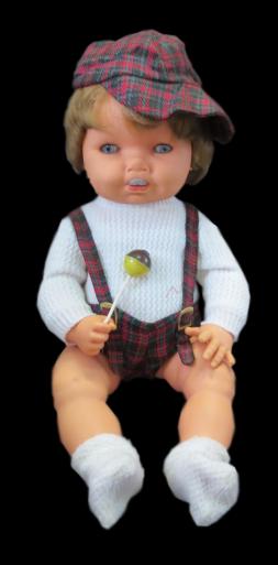 <i>Кукла с конфетой на палочке от Novo-Gama</i>