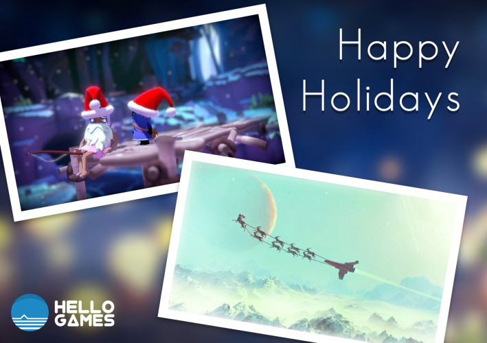 Разработчики поздравляют с Новым годом и Рождеством