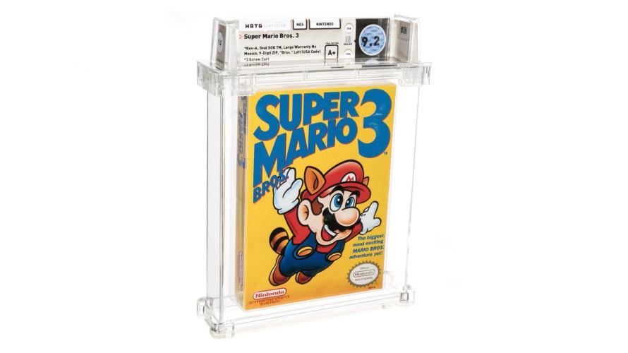 Редкая копия Super Mario Bros. 3 стала самой дорогой видеоигрой в мире