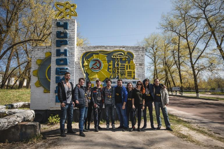 <b>Команда Atom Team в Чернобыле</b>
