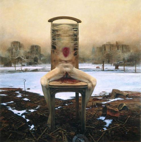 Ноги на кресле 1984 г.