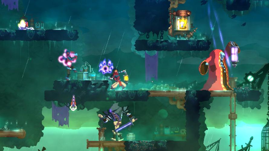 Анимационный трейлер Fatal Falls — второго платного DLC для Dead Cells
