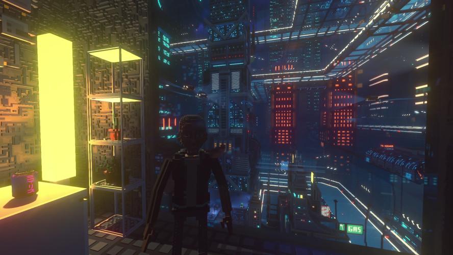 Анонс City of Ghosts — дополнения для Cloudpunk, которое тянет на новую игру