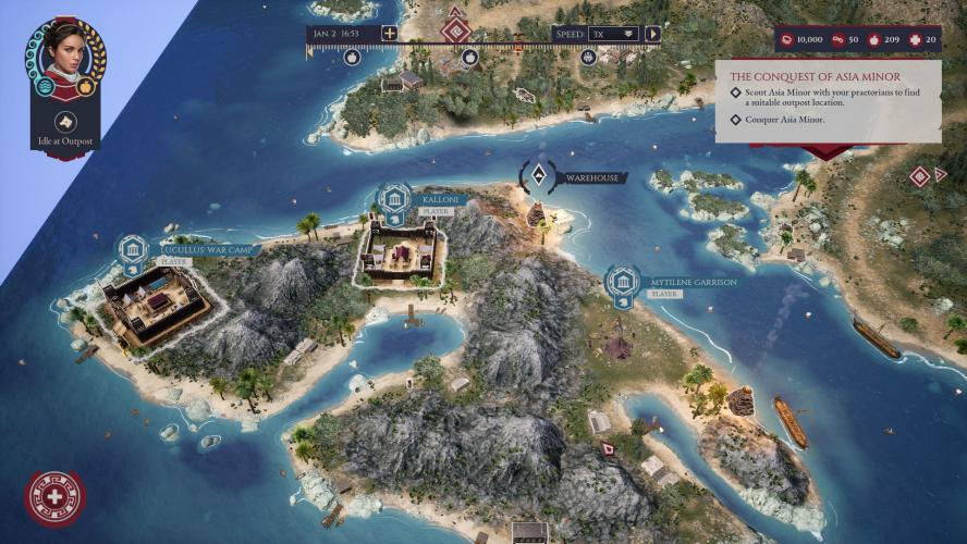 Анонс Expeditions: Rome — пошаговой ролевой стратегии с нелинейным сюжетом