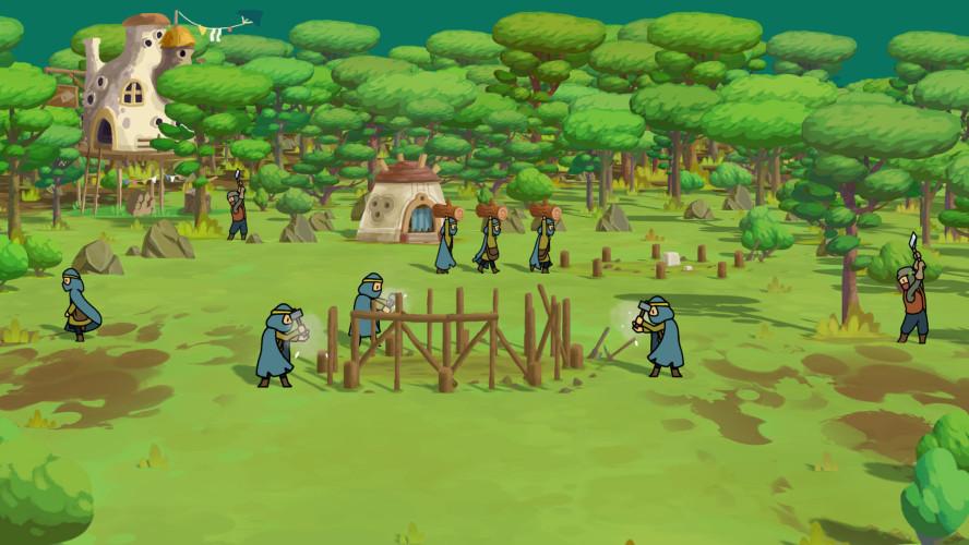 The Wandering Village — симулятор строительства поселения на спине громадного существа