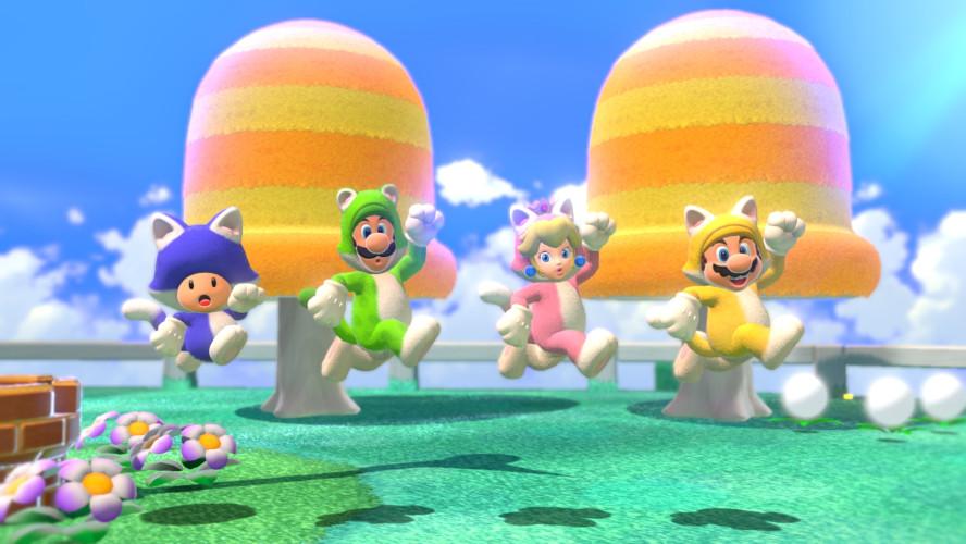 Узрите мощь Боузера — трейлер Super Mario 3D World + Bowser's Fury