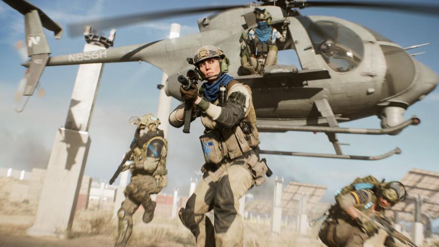 Видео и детали о Hazard Zone — аналоге Escape from Tarkov внутри Battlefield 2042