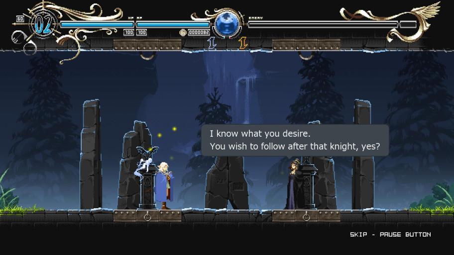 Да, эта эльфийка любила своего рыцаря.