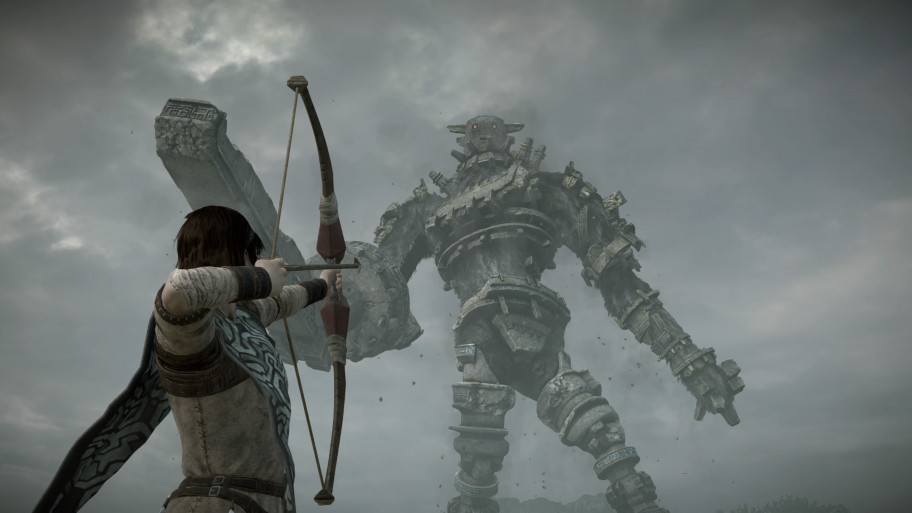 Колоссы вShadow ofthe Colossus— величественные иинтересные существа, ноихпридётся уничтожить, выбора увас нет (даже несмотря насомнения вправильности этого).
