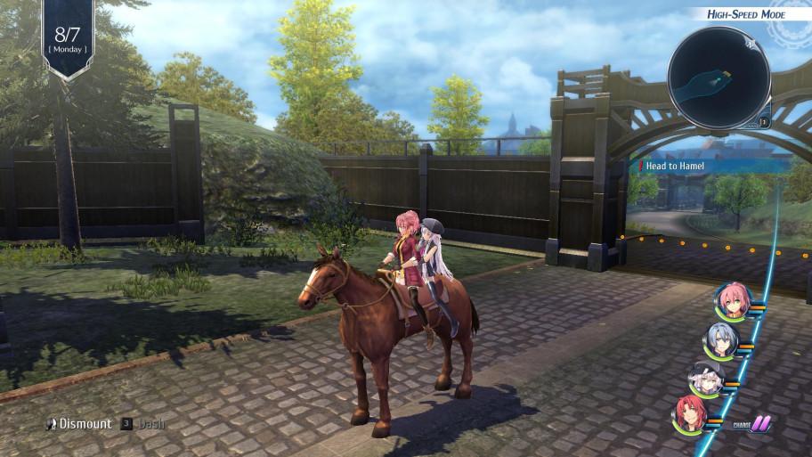 Правда, уменя вPC-версии управление лошадьми было почти забагованным.