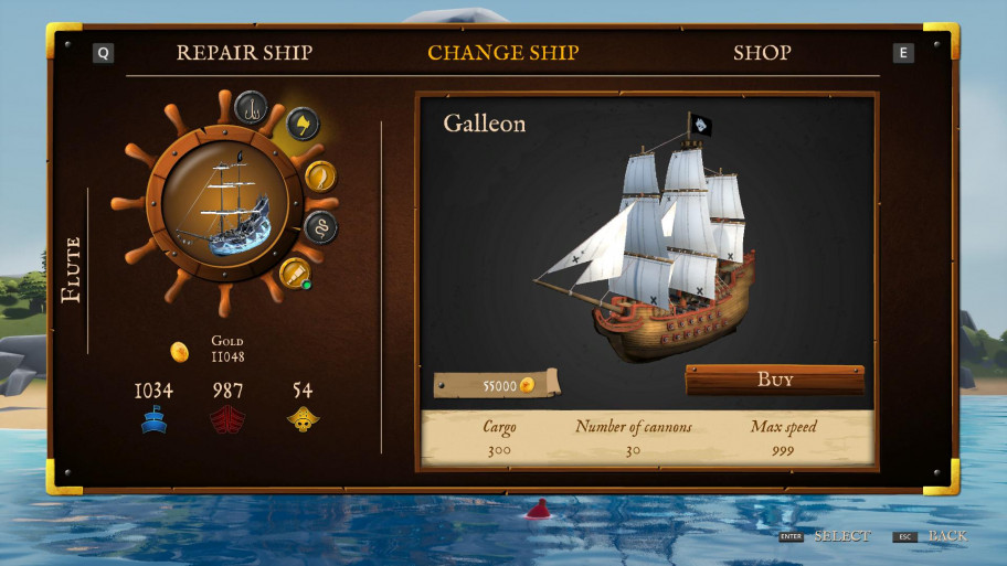 Galleon is every pirate's dream.