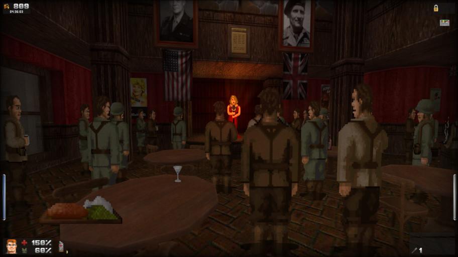 Между вылазками на поле брани геймеру дают пройтись по штабу союзников, поболтать с NPC, подлечиться и затариться барахлом у квартирмейстера. Deus Ex? Deus Ex.