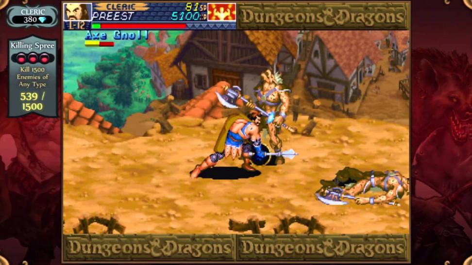 Dungeons and Dragons: Chronicles ofMystara. Навороченную графику незавезли, ноотпроцесса неоторваться.