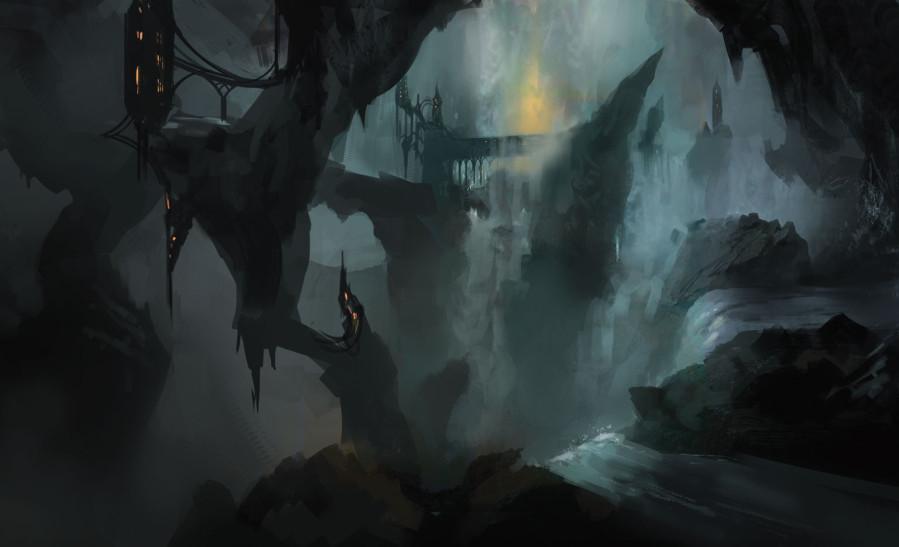 ВПодземье темно, сыро, иещё там живут эльфы-садисты.