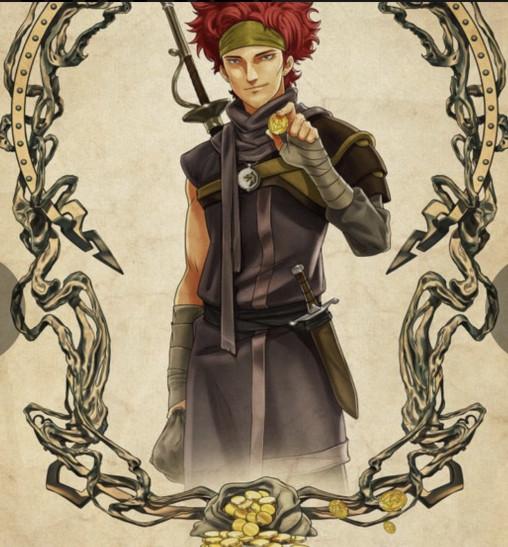 Постеры персонажей мультфильма «Ведьмак. Кошмар Волка»