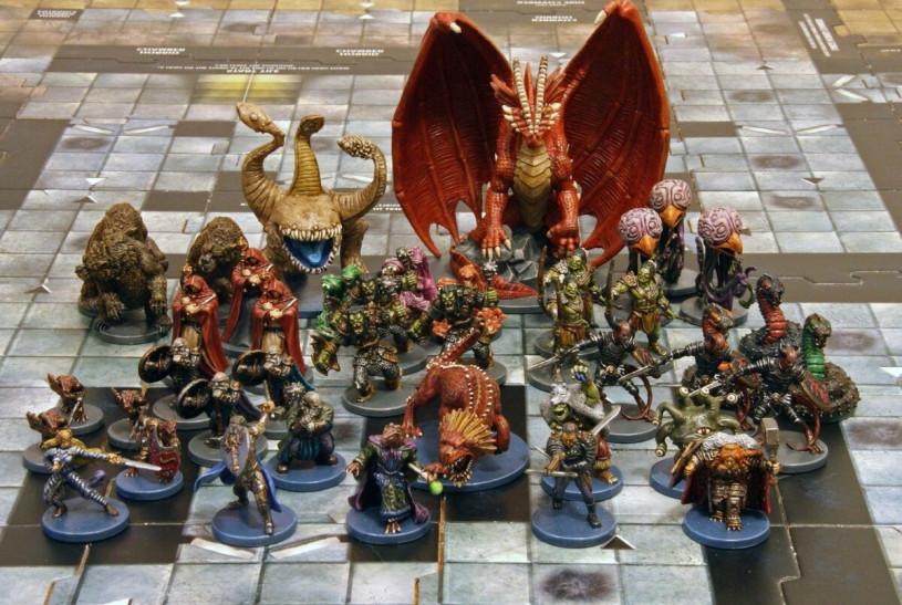 Покраска миниатюр для D&D схожа стаковой для Warhammer. Один раз попробовал— пропал навсегда.