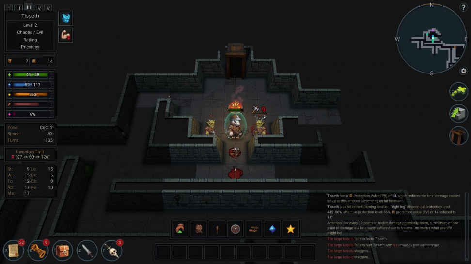 Ultimate ADOM — Caverns of Chaos: Обзор