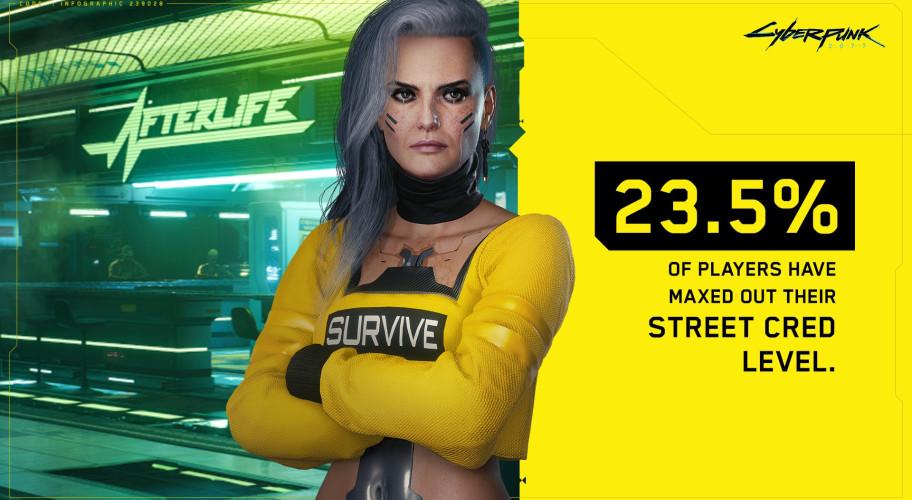 68 % игроков в Cyberpunk 2077 считают, что Панам — лучшая девочка