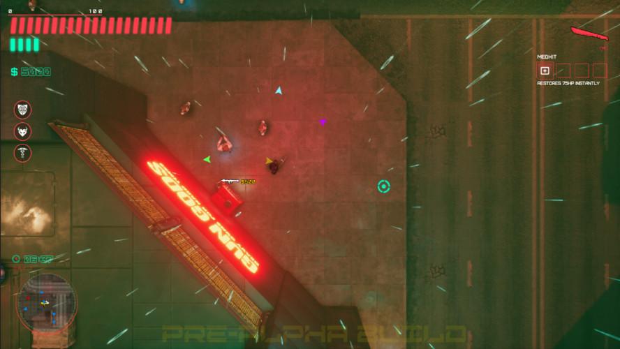 Glitchpunk — экшен в духе первых GTA, только с киберпанком и постъядерным Советским Союзом
