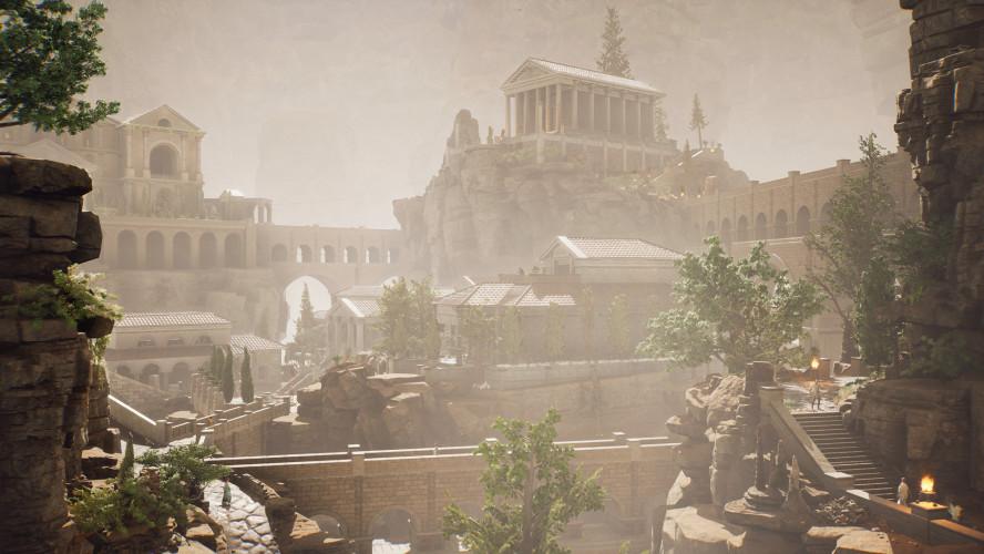 День сурка в Древнем Риме со страшным проклятием — восемь минут геймплея The Forgotten City