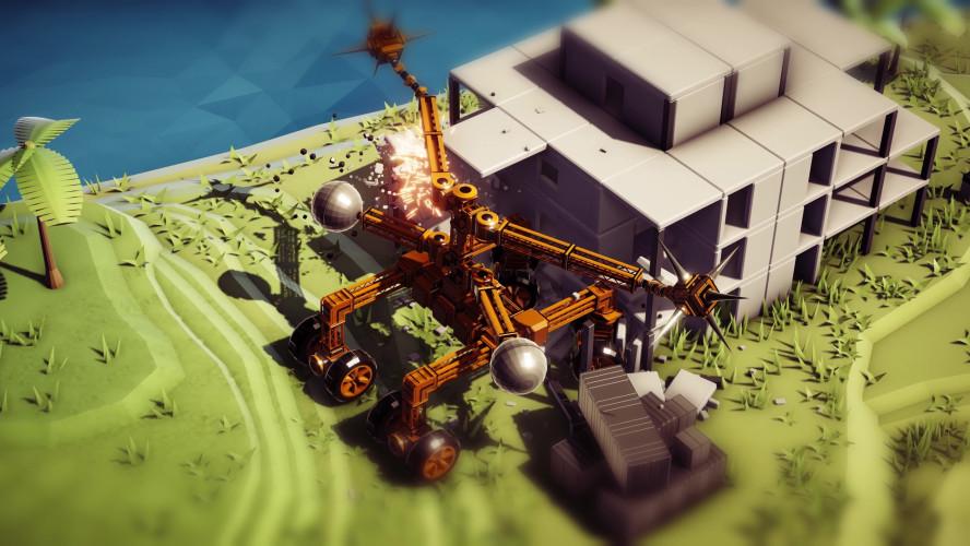 Instruments of Destruction — песочница про разрушительные машины от разработчика Red Faction: Guerrilla