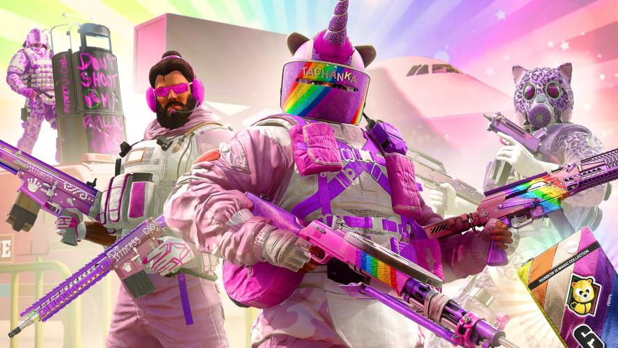 Дружба снова чудо! В Rainbow Six Siege вернулось розовое событие