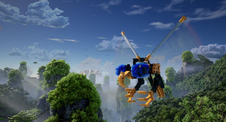 Трейлер Bionicle: Masks of Power — фанатской игры по «Биониклам», которая собирается выйти в Steam