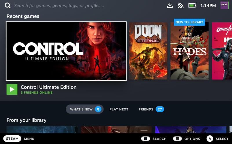Интерфейс Steam Deck заменит Big Picture в Steam