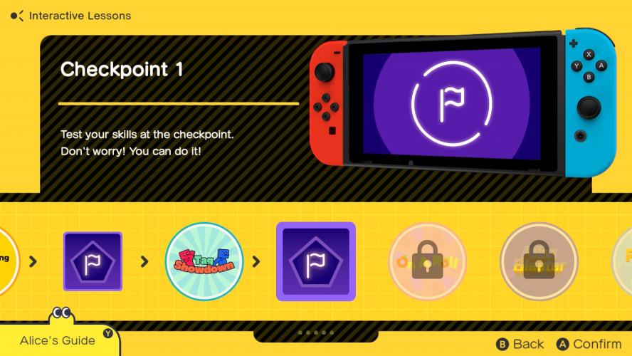 Game Builder Garage — игра про создание игр от Nintendo