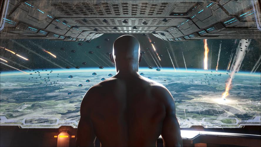 Вин Дизель в трусах завершает сюжет ARK: Survival Evolved — трейлер к релизу дополнения Genesis Part 2