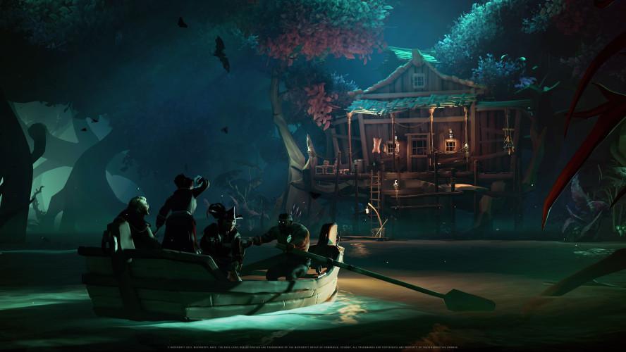 Подробнее о «Пиратах Карибского моря» в Sea of Thieves
