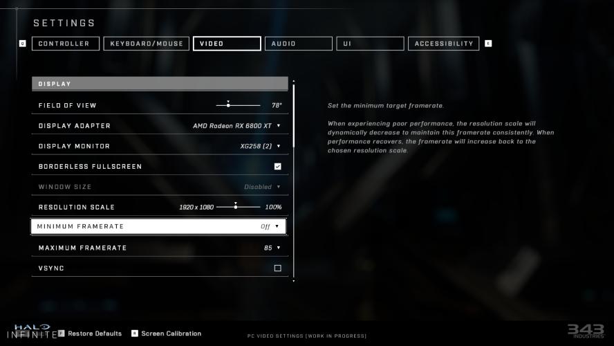 Скриншоты из Halo Infinite в ультрашироком 32:9 и другие особенности PC-версии