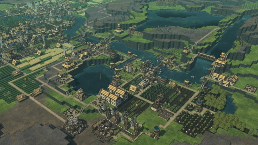 Стартовала Timberborn — градострой про бобров, реки и уважение к природе