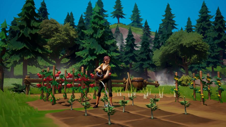 Palia — чудесно выглядящая MMO про свой домик в деревне