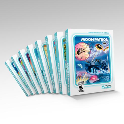 Странная консоль Amico ещё не вышла, а для неё уже продают физические издания игр, да ещё и с NFT