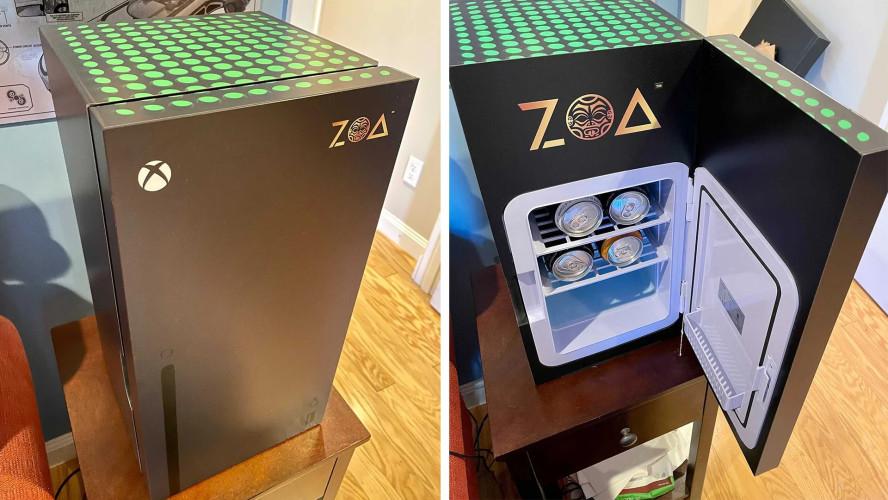 Microsoft возьмётся за производство мини-холодильников в виде Xbox Series X после победы в битве брендов