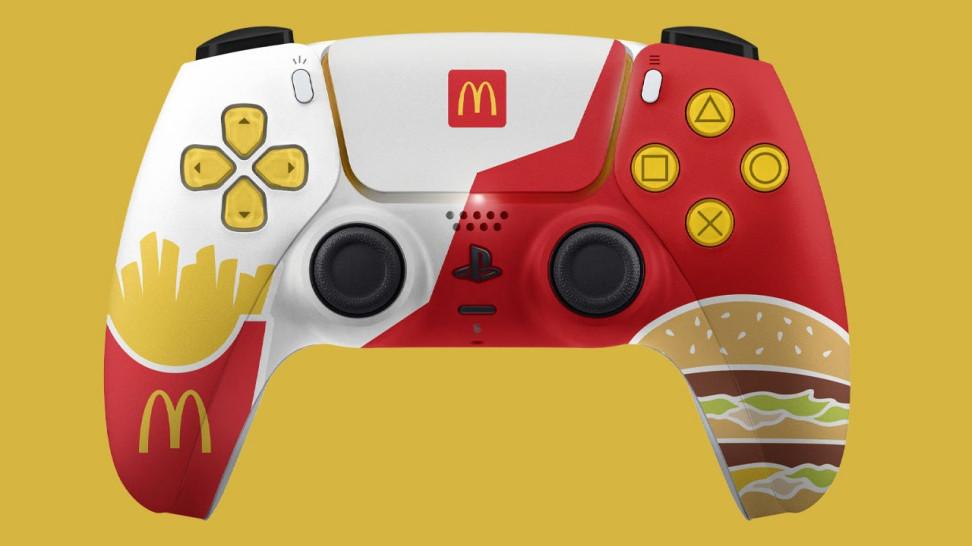 McDonald's случайно показала концепт особой версии DualSense, на которую у компании не было разрешения