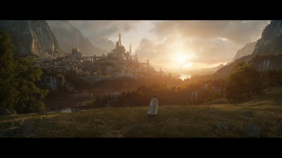 Первый кадр из «Властелина колец» от Amazon. Сериал стартует 2 сентября 2022-го