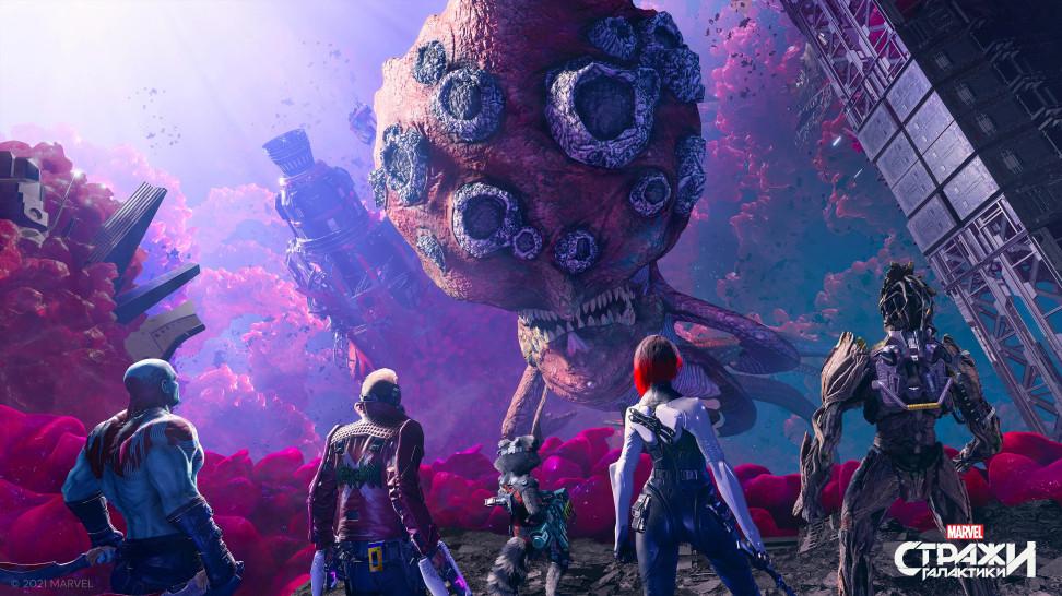 Как создавалась боевая система Guardians of the Galaxy