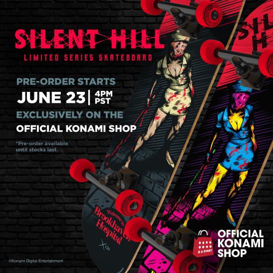 Konami анонсировала скейтборды по Silent Hill и добавляет, что «ожидание скоро окончится»