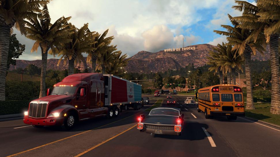 В Euro Truck Simulator 2 и American Truck Simulator официально добавляют мультиплеер