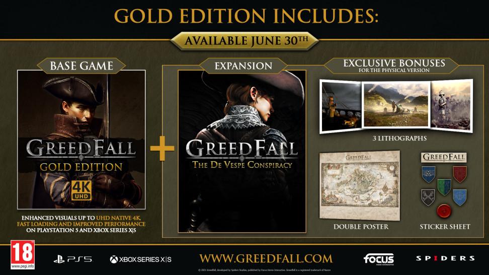 30 июня GreedFall получит дополнение The De Vespe Conspiracy и некстген-патч