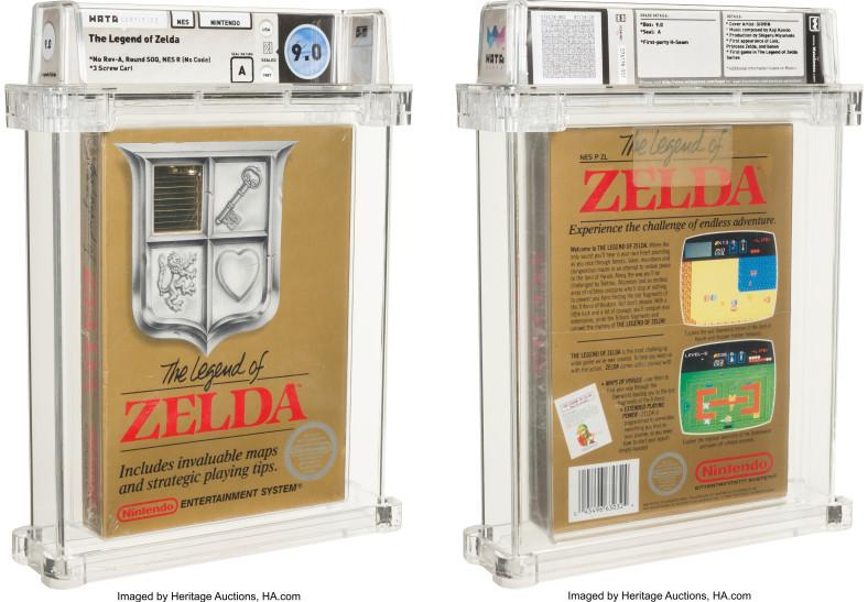 Запечатанную копию The Legend of Zelda для NES продали на аукционе за $870 000 — новый рекорд для видеоигр