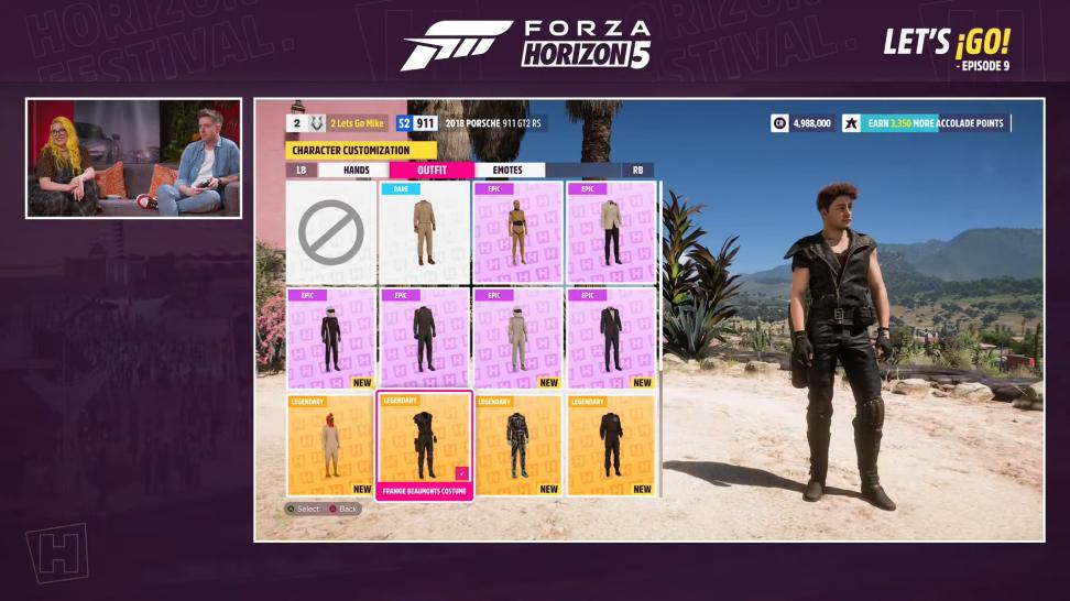 О кастомизации персонажа и особенностях «Историй» в Forza Horizon 5