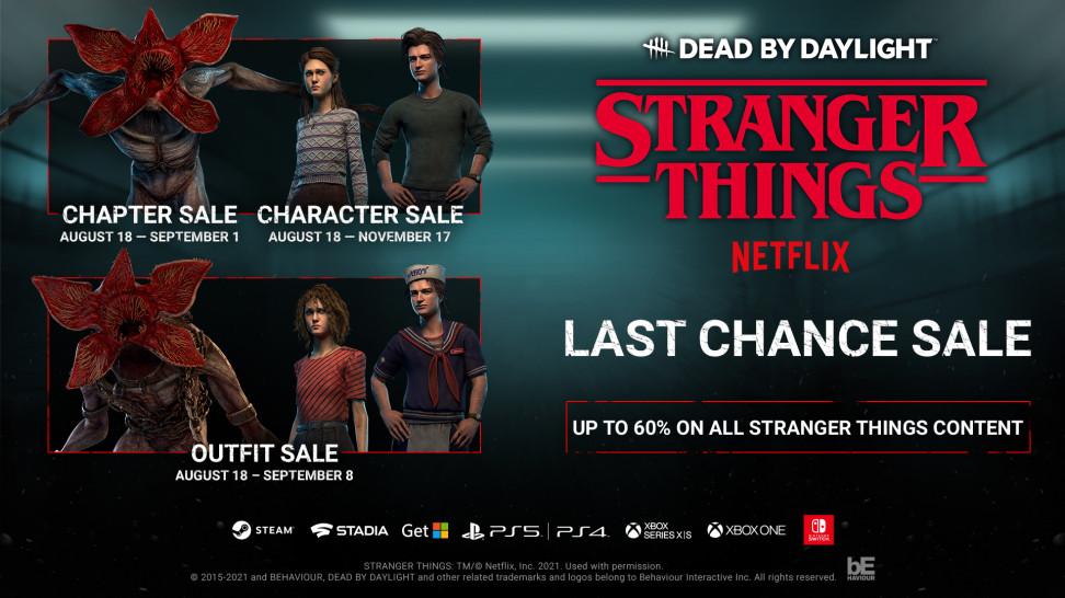 17 ноября из Dead by Daylight уберут главу с «Очень странными делами» — первый подобный случай в истории игры